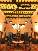 Room in the Rajbari.