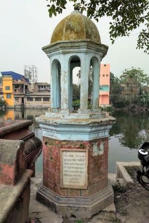 At Joynagar in South 24 Parganas.