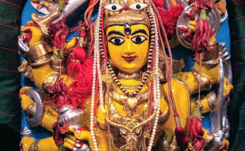 Durga Puja of Haldarbari ofBaghbazar
