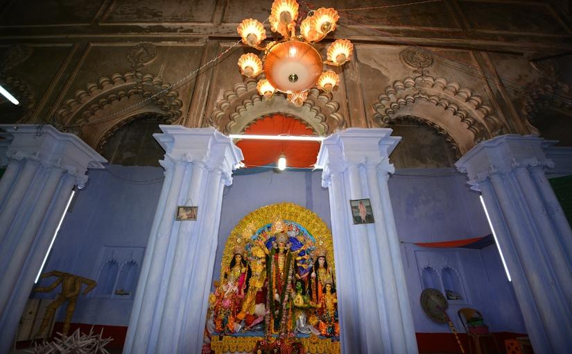 Durga Puja of 'bonedi' families ofChandannagar