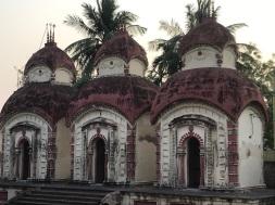 Three Shiv Mandir on the right.