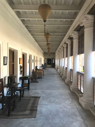 Another view of the corridor of the Rajbari.