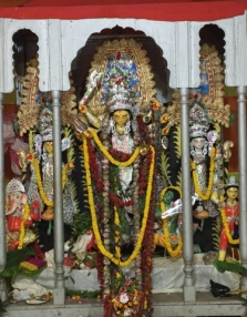 The Durga Protima.