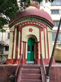 North facing temple.