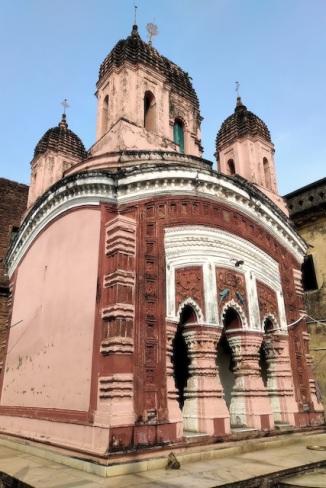 Radha Damodar temple (side ways)