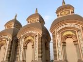 Renovated Shiva temples