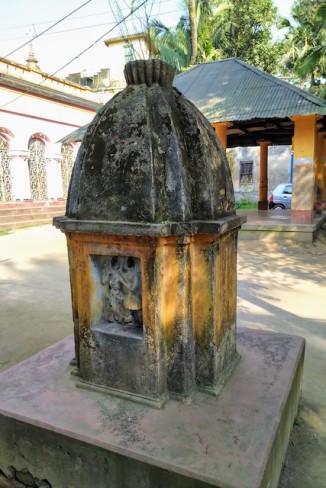Another tulsimancha in Jhikira.