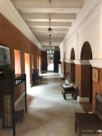 Corridor of Bawali Rajbari.
