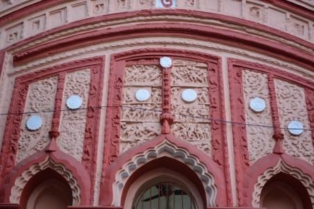 Terracotta panel.