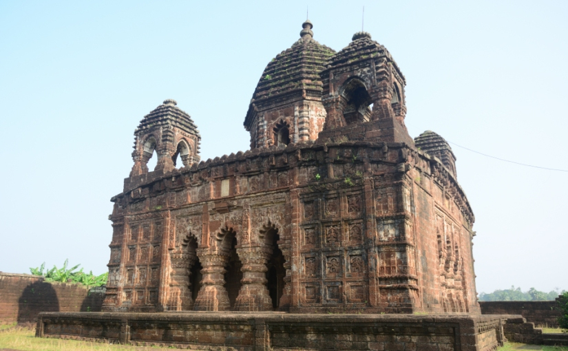Temples in and around Joypur,Bankura
