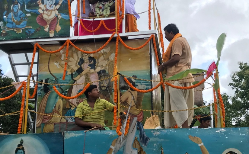 Rathyatra in Amadpur