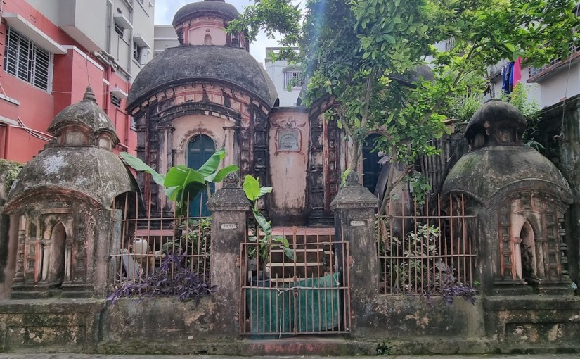 Twin Shiva Temples,Baranagar
